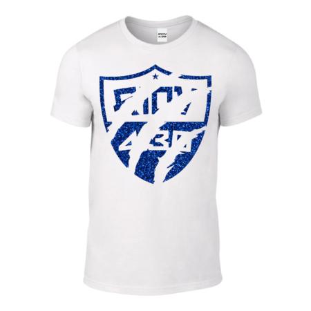 Tshirt Homme – Soft Griff Glitter Blue