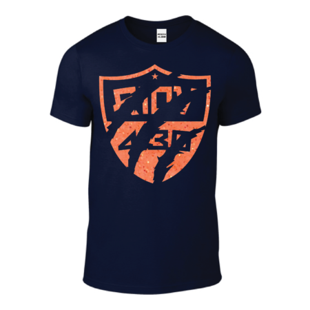 Tshirt Homme – Soft Griff Glitter Orange